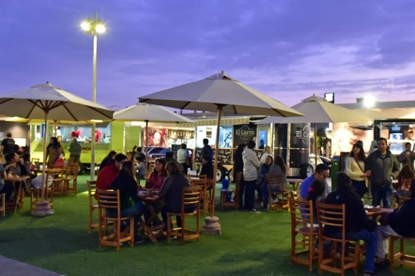 Food Trucks al aire libre