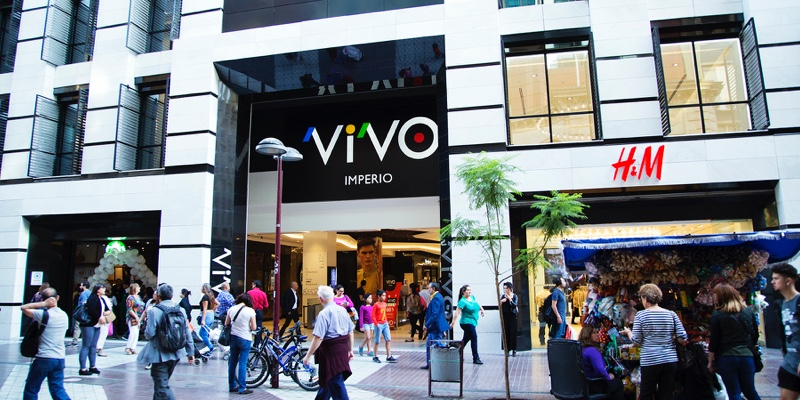 Fachada Mall Vivo Imperio